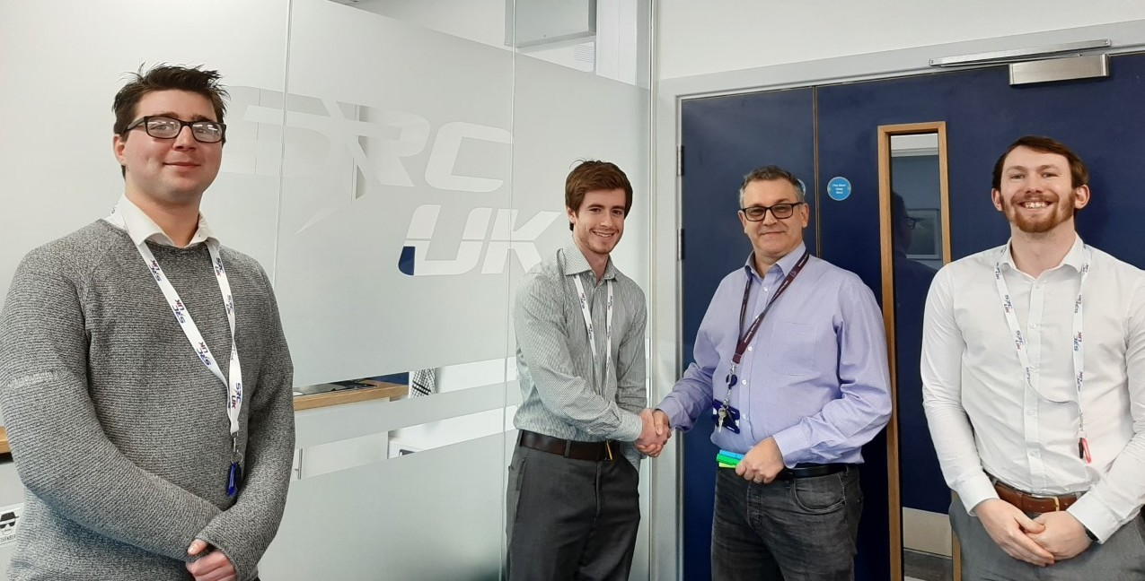 First Graduates start at SRC UK