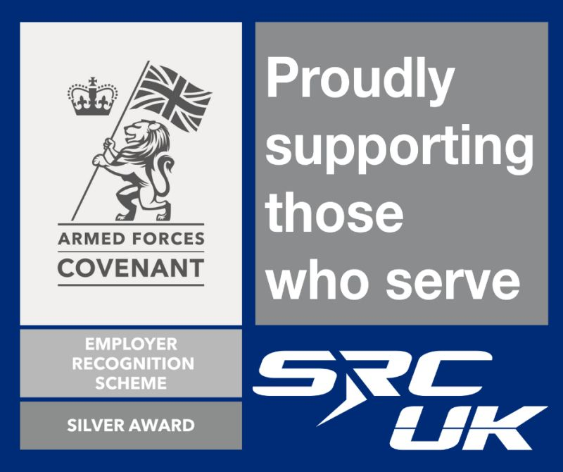 SRC UK has the Silver award of the Armed Forces Covenant